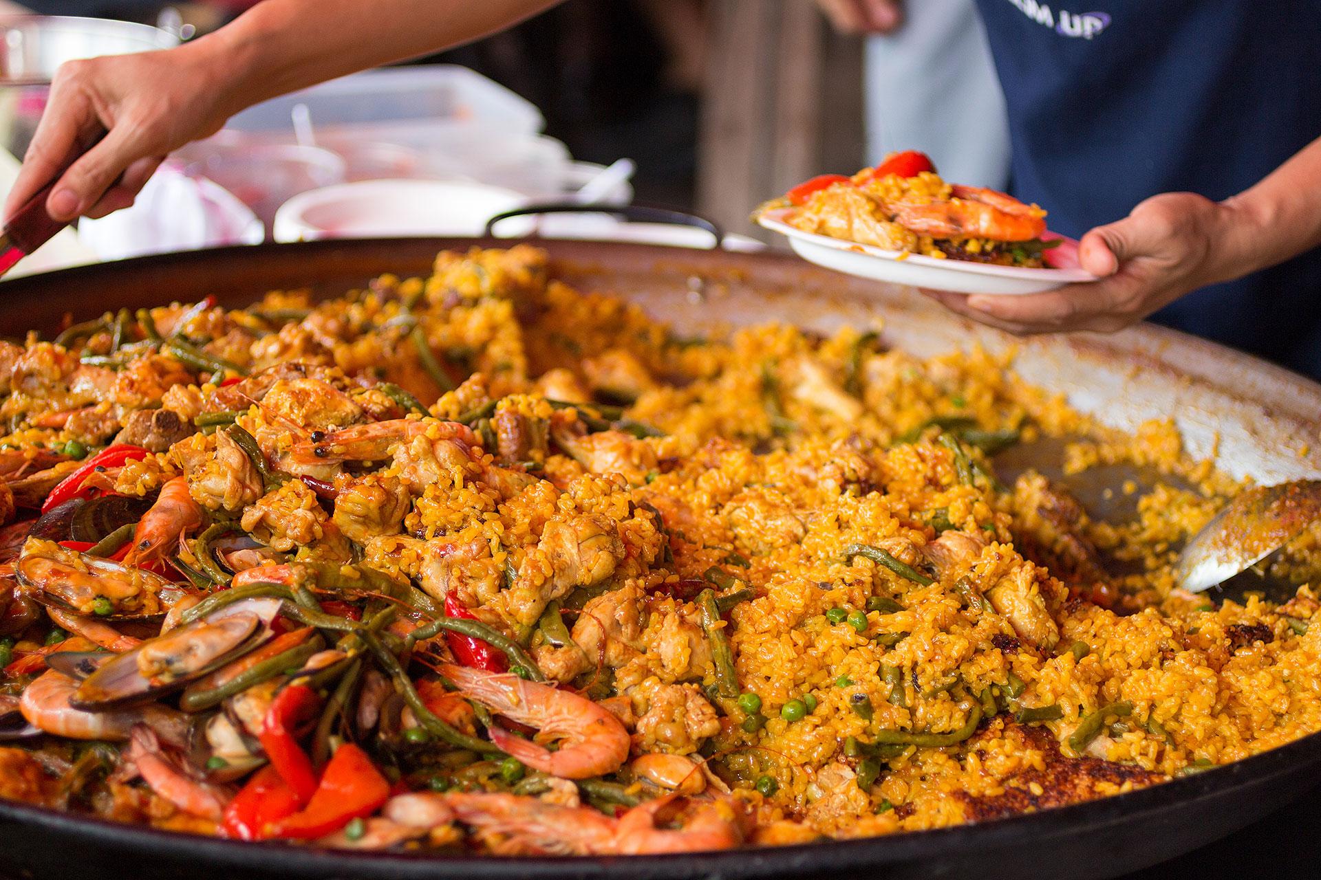 Paella essen in Köln - Gutierrez